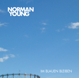 Cover Norman Young Im Blauem bleiben